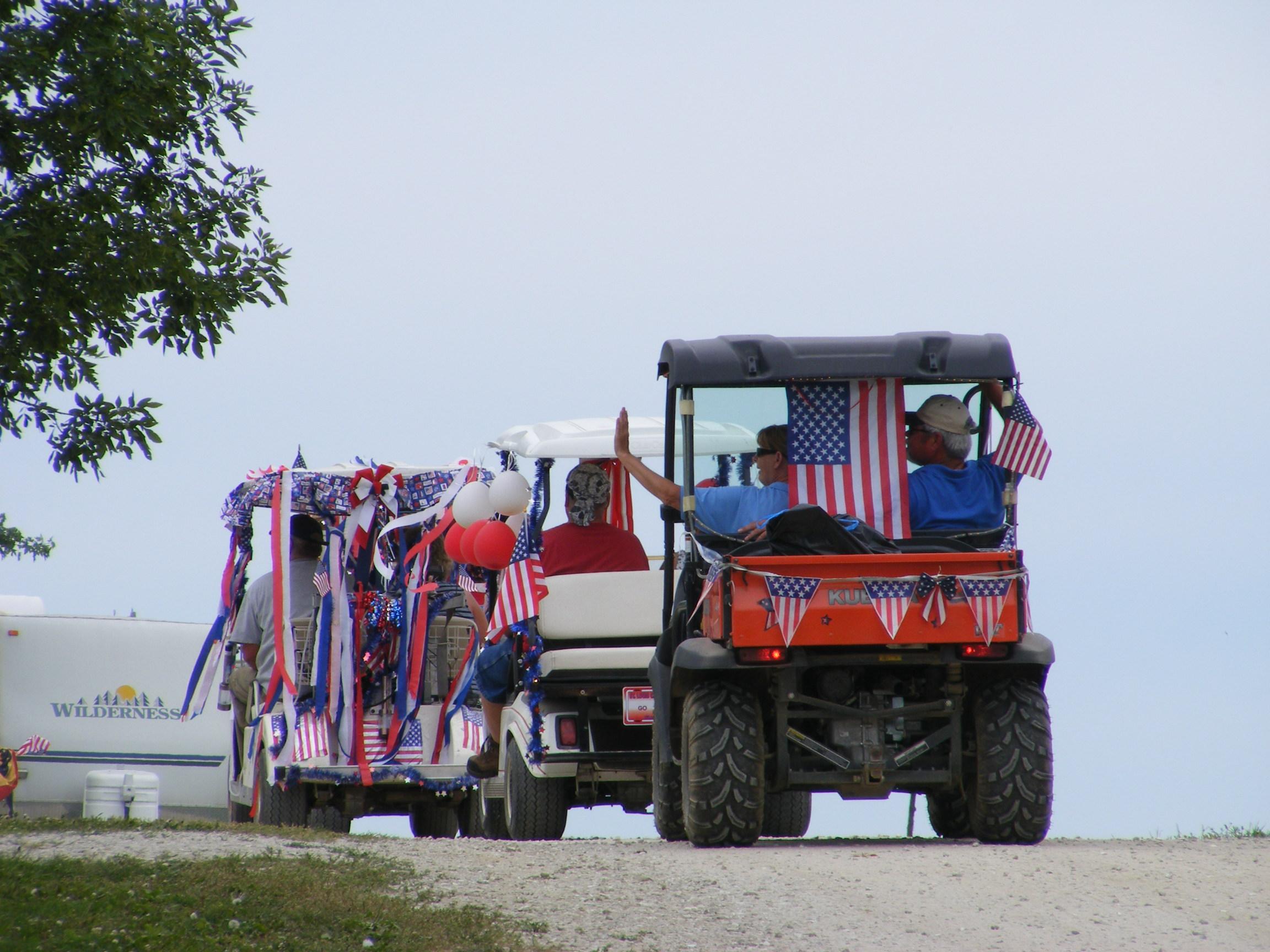 cabinfeveril.com - Cabin Fever parade